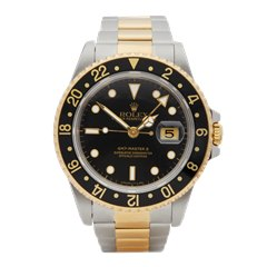 Rolex GMT-Master II Stainless Steel & 18K Yellow Gold - 16713LN