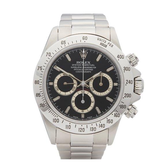 Rolex Daytona Zenith Chronograph Stainless Steel - 16520