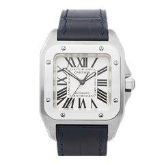 Cartier Santos 100 Stainless Steel - 2878