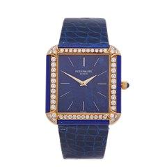 Patek Philippe Vintage Lapis Lazuli 18k Yellow Gold - 3727
