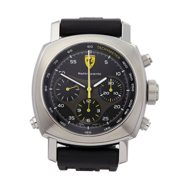 Panerai Ferrari Rattrapante Chronograph Stainless Steel - FER00010