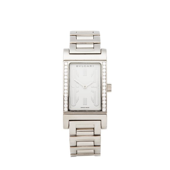 Bulgari Rettangolo 18K White Gold - RT W39 G