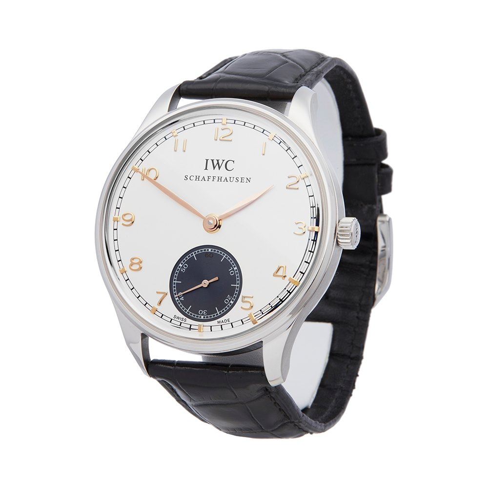 IWC Portuguese 8 Day Stainless Steel IW545405