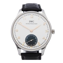 IWC Portuguese 8 Day Stainless Steel - IW545405
