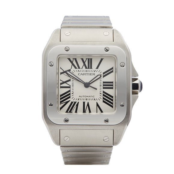Cartier Santos 100 Stainless Steel - 2858