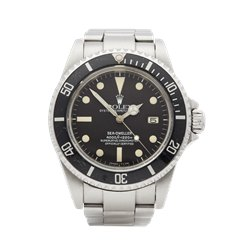 Rolex Sea-Dweller Matte Dial Stainless Steel - 16660