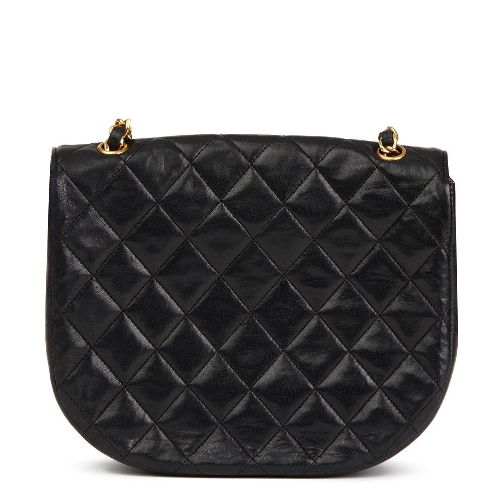 48beedf52c3b Chanel Black Quilted Lambskin Vintage XL Classic Single Flap Bag