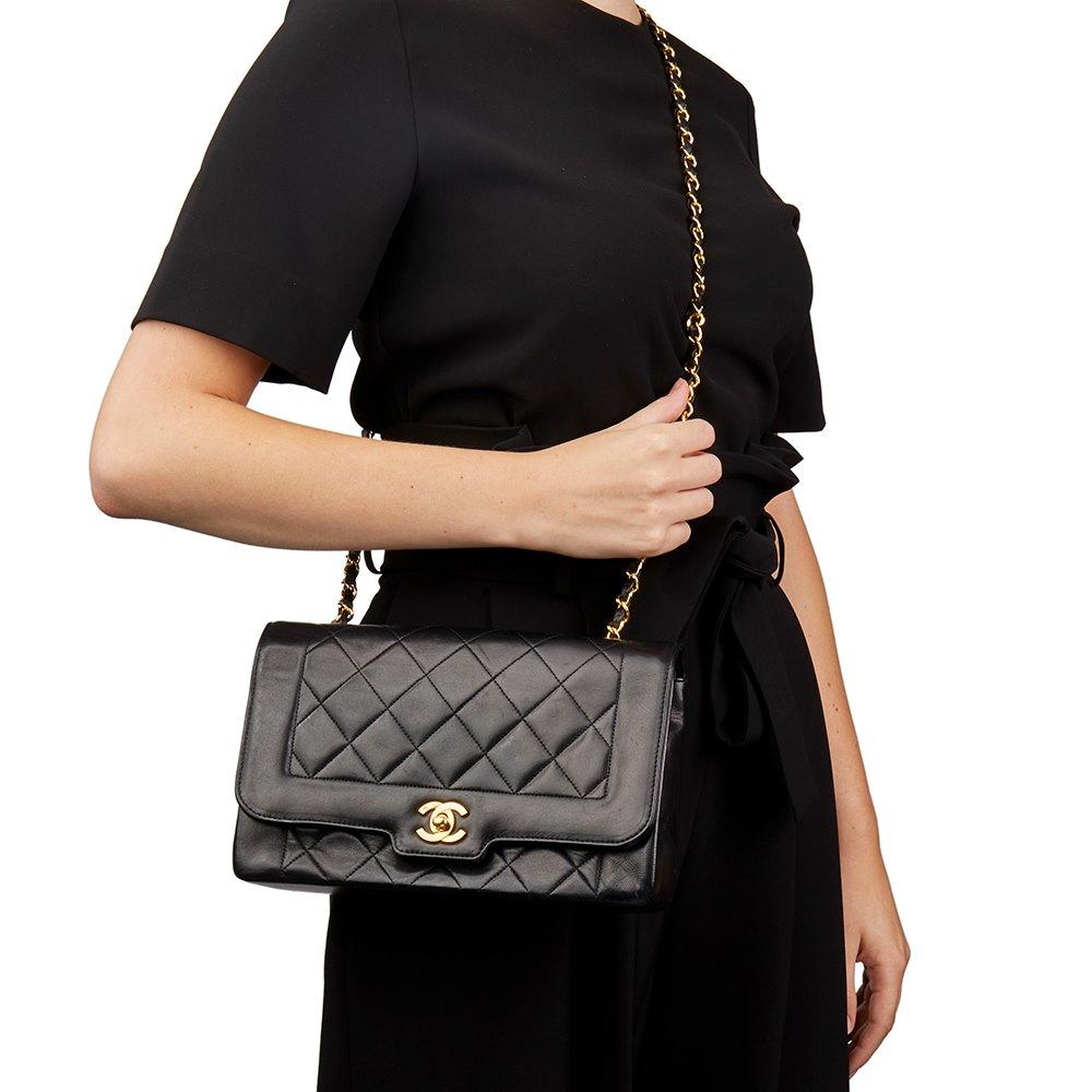 1fbfa21a0e31 Chanel Medium Classic Diana Flap Bag 1991 HB2025 | Second Hand Handbags