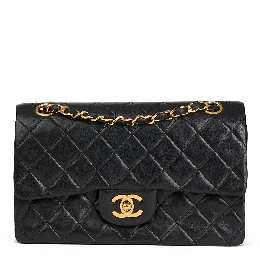 dae27a1b83771a Chanel Small Classic Double Flap Bag 1987 HB2030 | Second Hand Handbags