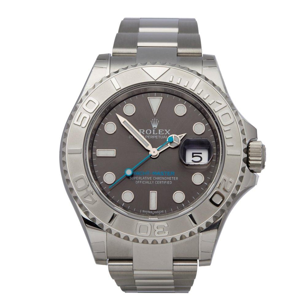 Yacht Master Stainless Steel Platinum 116622