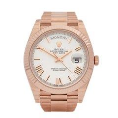 Rolex Day-Date 18K Rose Gold - 228235