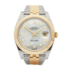 Rolex Datejust Stainless Steel & 18K Yellow Gold - 126333