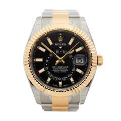 Rolex Skydweller Stainless Steel & 18K Yellow Gold - 326933