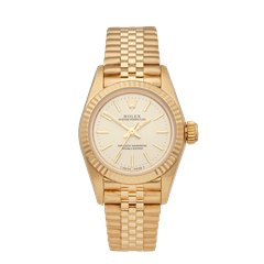 Rolex Oyster Perpetual 18K Yellow Gold - 69198