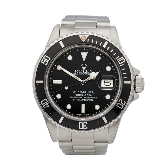 Rolex Submariner Date Stainless Steel - 16800