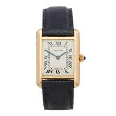 Cartier Tank Louis Cartier 18K Yellow Gold - 8660