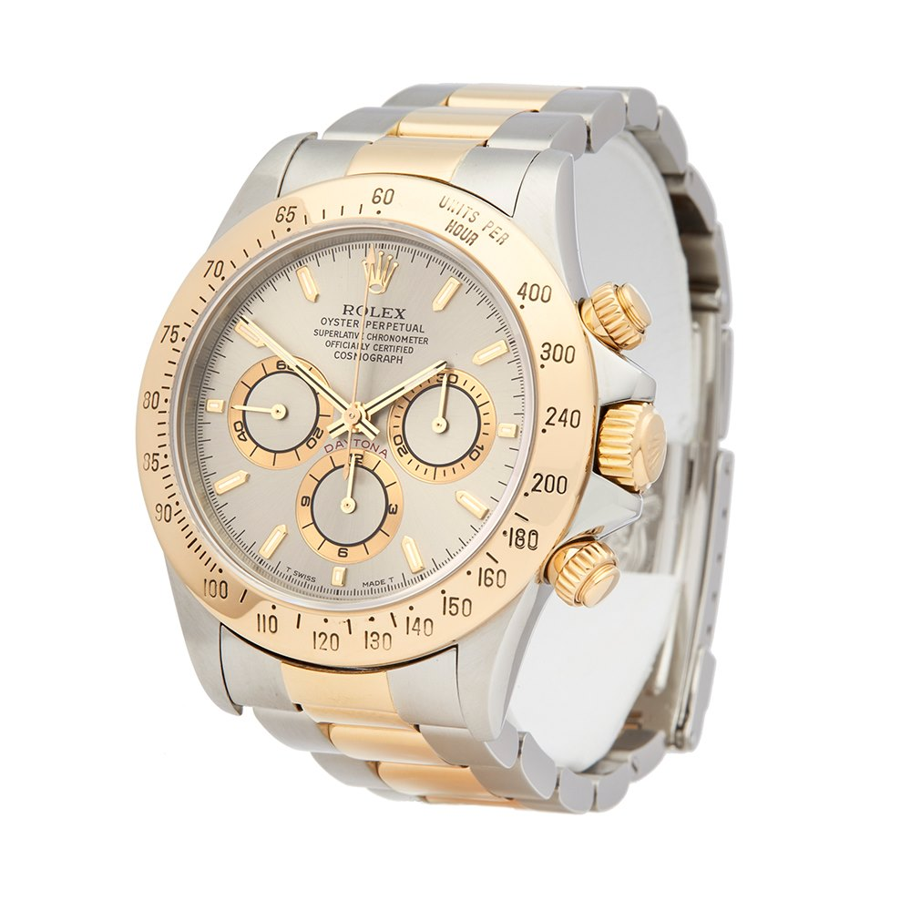 Rolex Daytona Stainless Steel & 18K Yellow Gold 16523