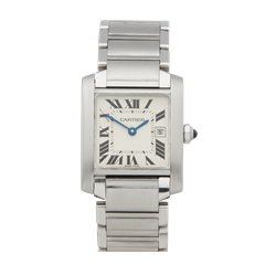 Cartier Tank Francaise Stainless Steel - W51011Q3