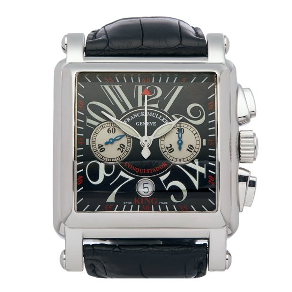 Franck Muller King Conquistador Cortez Chronograph Stainless Steel - 1000 K CC