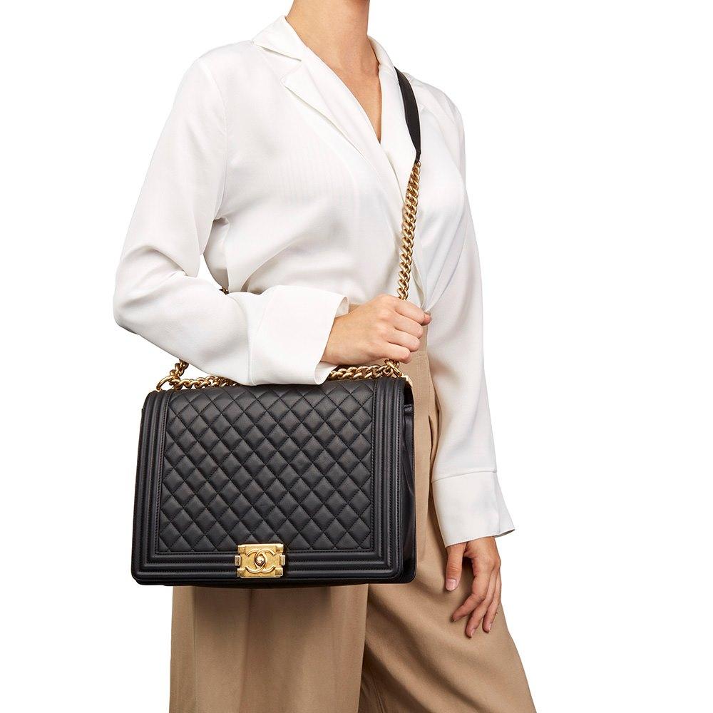 b5b9ce479fb9 Chanel Large Le Boy 2015 HB1997 | Second Hand Handbags | Xupes