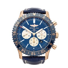 Breitling Chronoliner GMT 18K Rose Gold - RB046116/C972