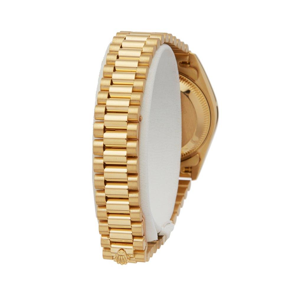 Rolex DateJust 26 Blood Stone 18k Yellow Gold 69178