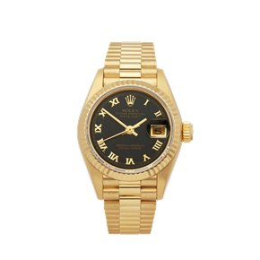 Rolex DateJust 26 Blood Stone 18k Yellow Gold - 69178