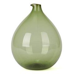 Swedish Blomkulla Glass Vase Kjell Blomberg Gullaskruf 1960