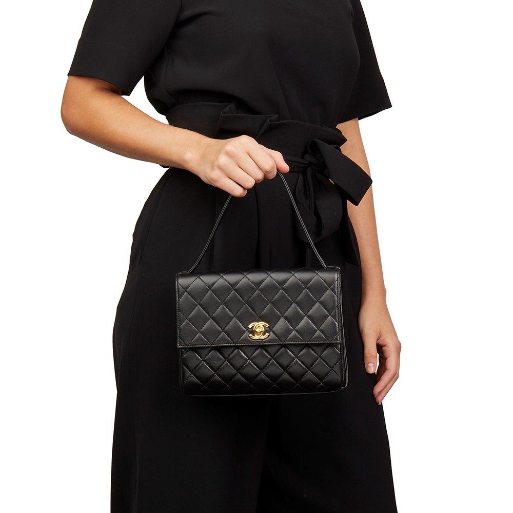 bf66814b6b38 Chanel Classic Top Handle Clutch 1997 HB2082 | Second Hand Handbags