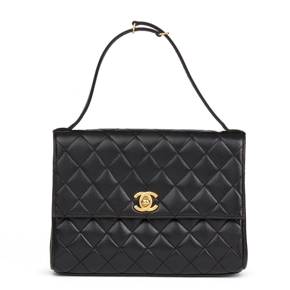 3540f3df5b6b Chanel Classic Top Handle Clutch 1997 HB2082   Second Hand Handbags