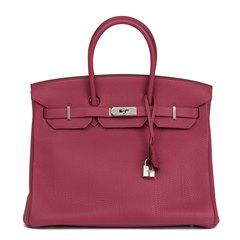 Hermès Tosca Togo Leather Birkin 35cm