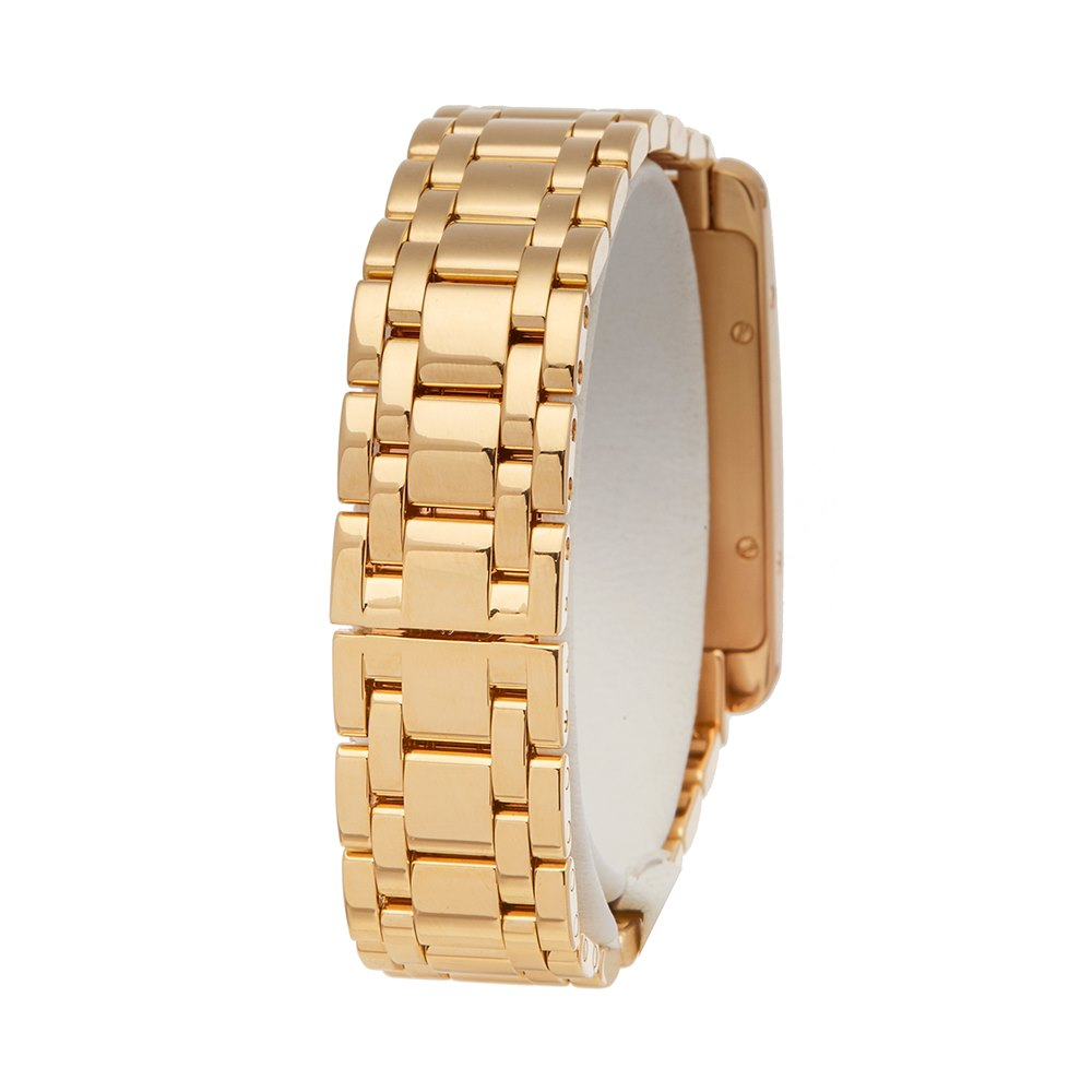 Cartier Tank Americaine Yellow Gold W26015K2 or 1710