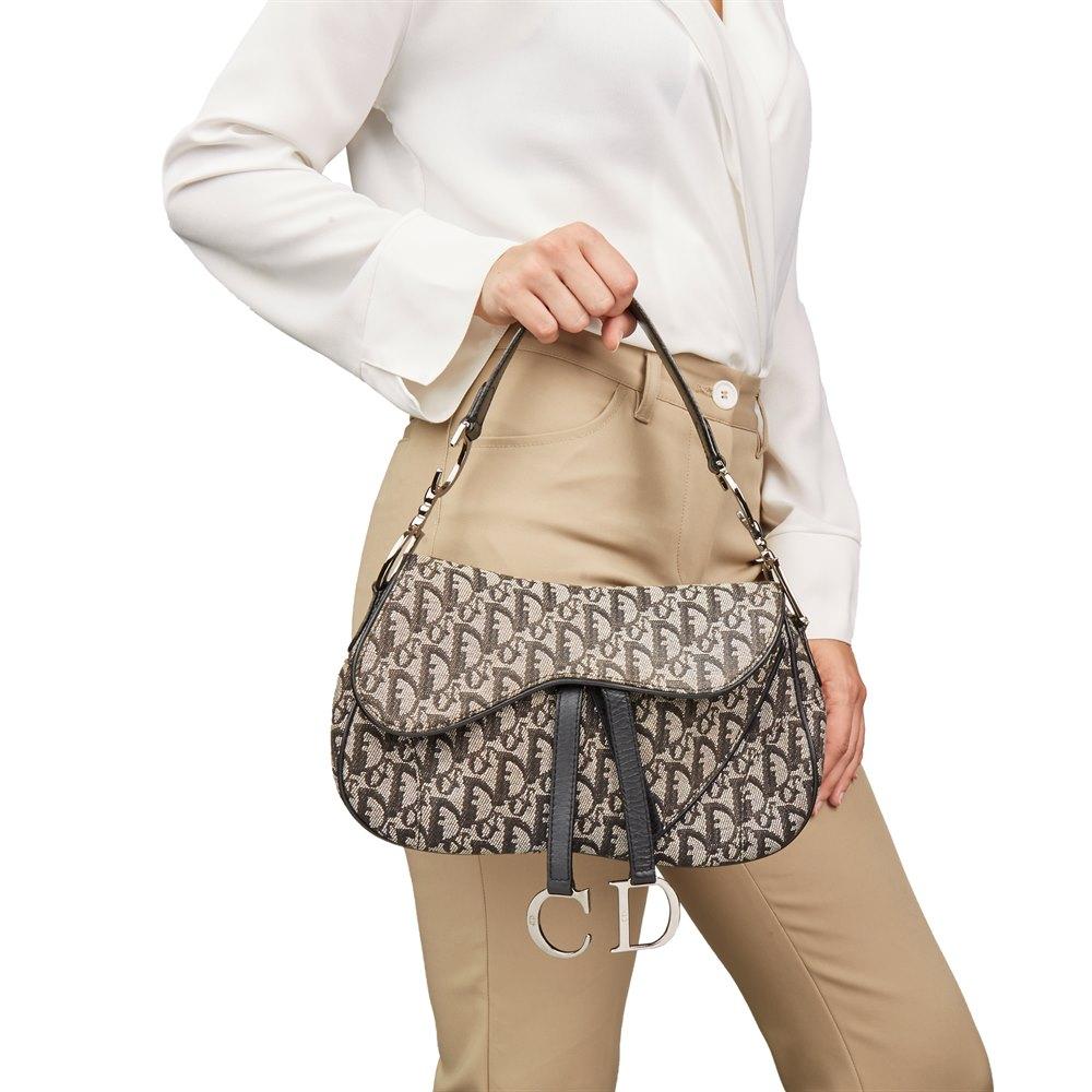 466d320607e Christian Dior Double Saddle Bag 2002 HB2097 | Second Hand Handbags