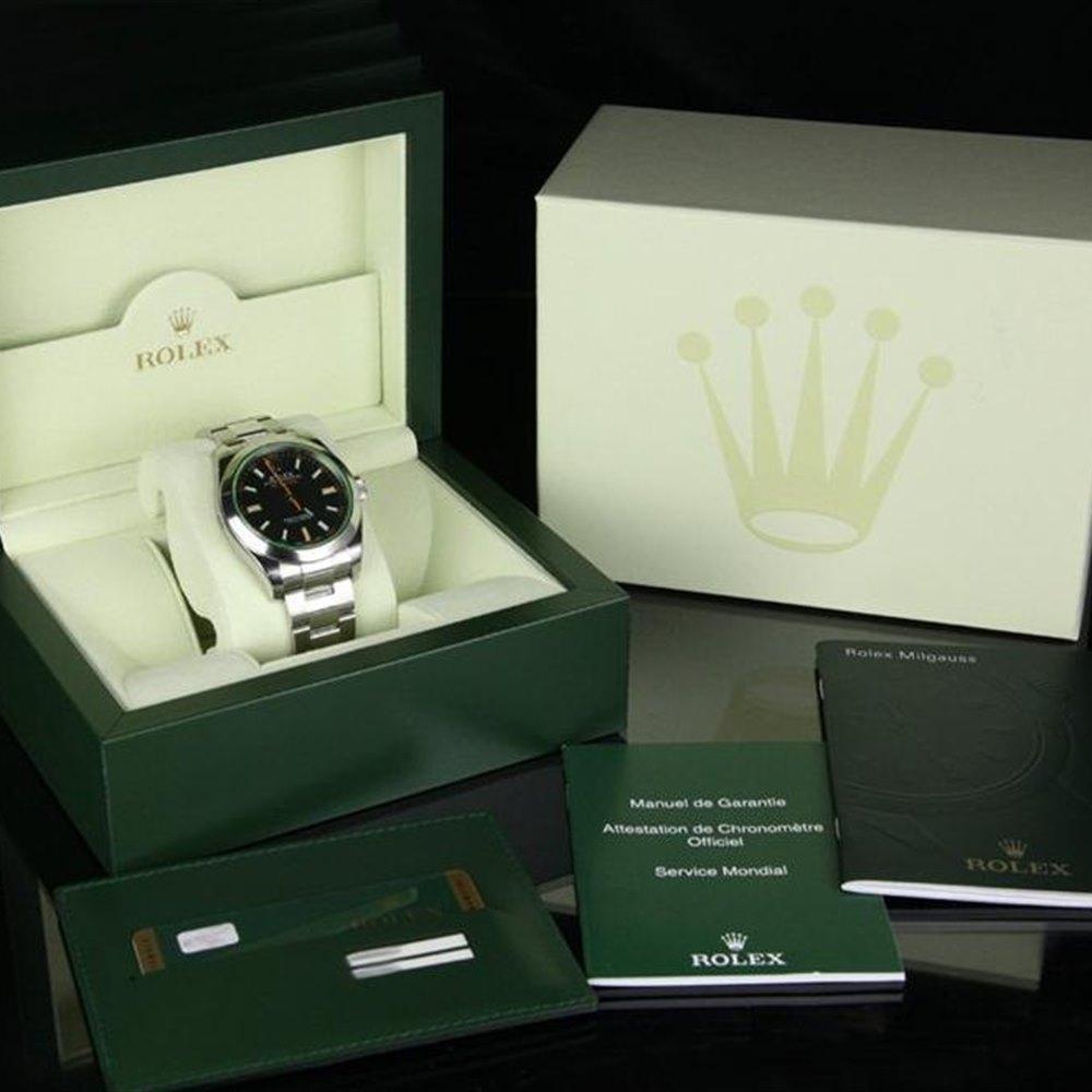 Rolex Milgauss Stainless Steel 116400 GV