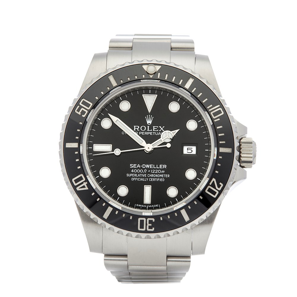 10a7d27460d Pre-owned Rolex Watch Sea-Dweller 116600 | Xupes