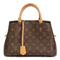 Louis Vuitton Brown Monogram Coated Canvas Montaigne BB