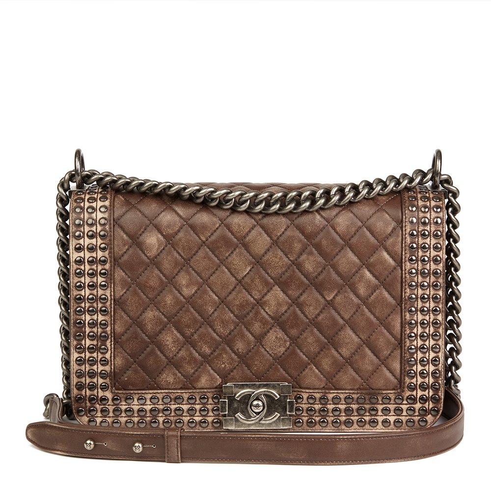 576ed0ce1131 Chanel New Medium Le Boy 2014 HB2112 | Second Hand Handbags | Xupes