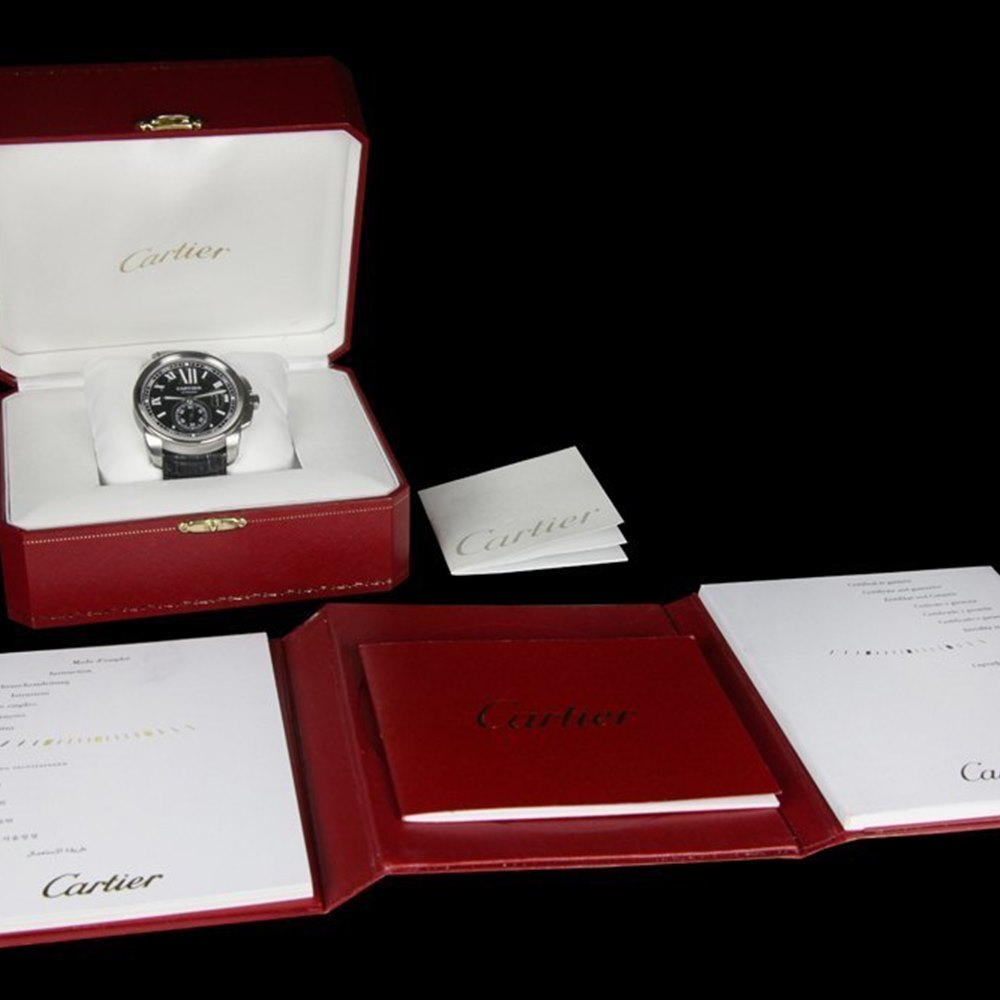 Cartier Calibre Stainless Steel W7100014