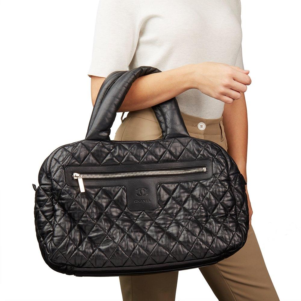 0e760a8dde9e Chanel Coco Cocoon Bowling Bag 2009 HB2132 | Second Hand Handbags