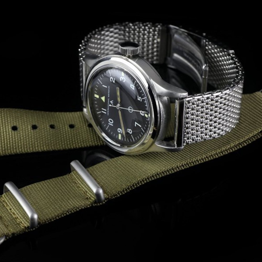 IWC MK XI Vintage Military Stainless Steel