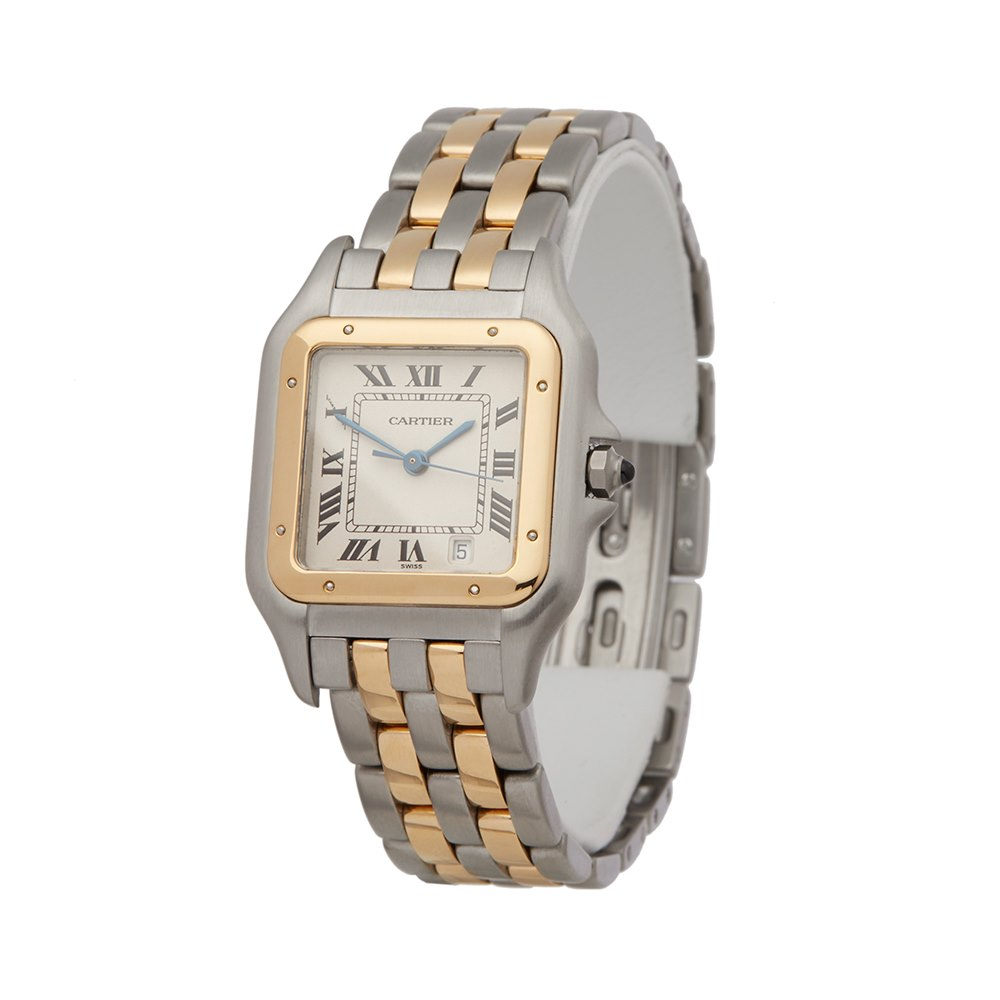 aa151b36647b Cartier Panthère Stainless Steel   18K Yellow Gold 1100