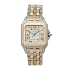 Cartier Panthere Stainless Steel & 18K Yellow Gold - 1100