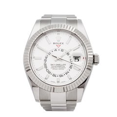 Rolex Sky-Dweller Stainless Steel & 18K White Gold - 326934