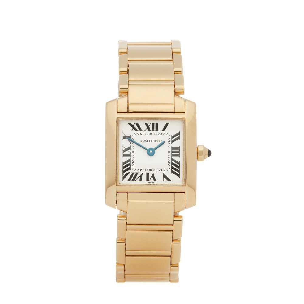 40f0532c1bb59 Cartier Tank Francaise 18K Yellow Gold 1820 or W50002N2
