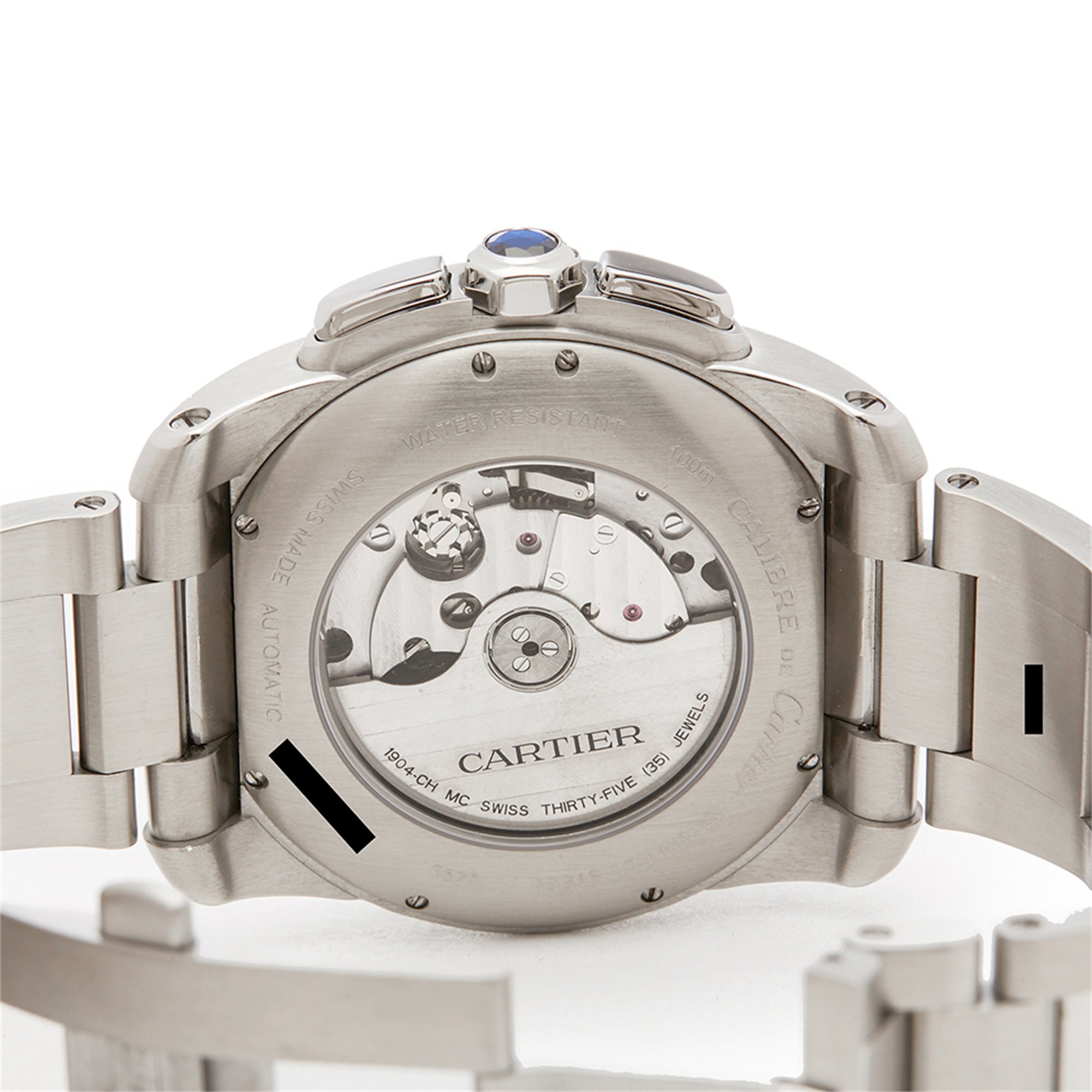 Cartier Calibre Stainless Steel W7100061 or 3578