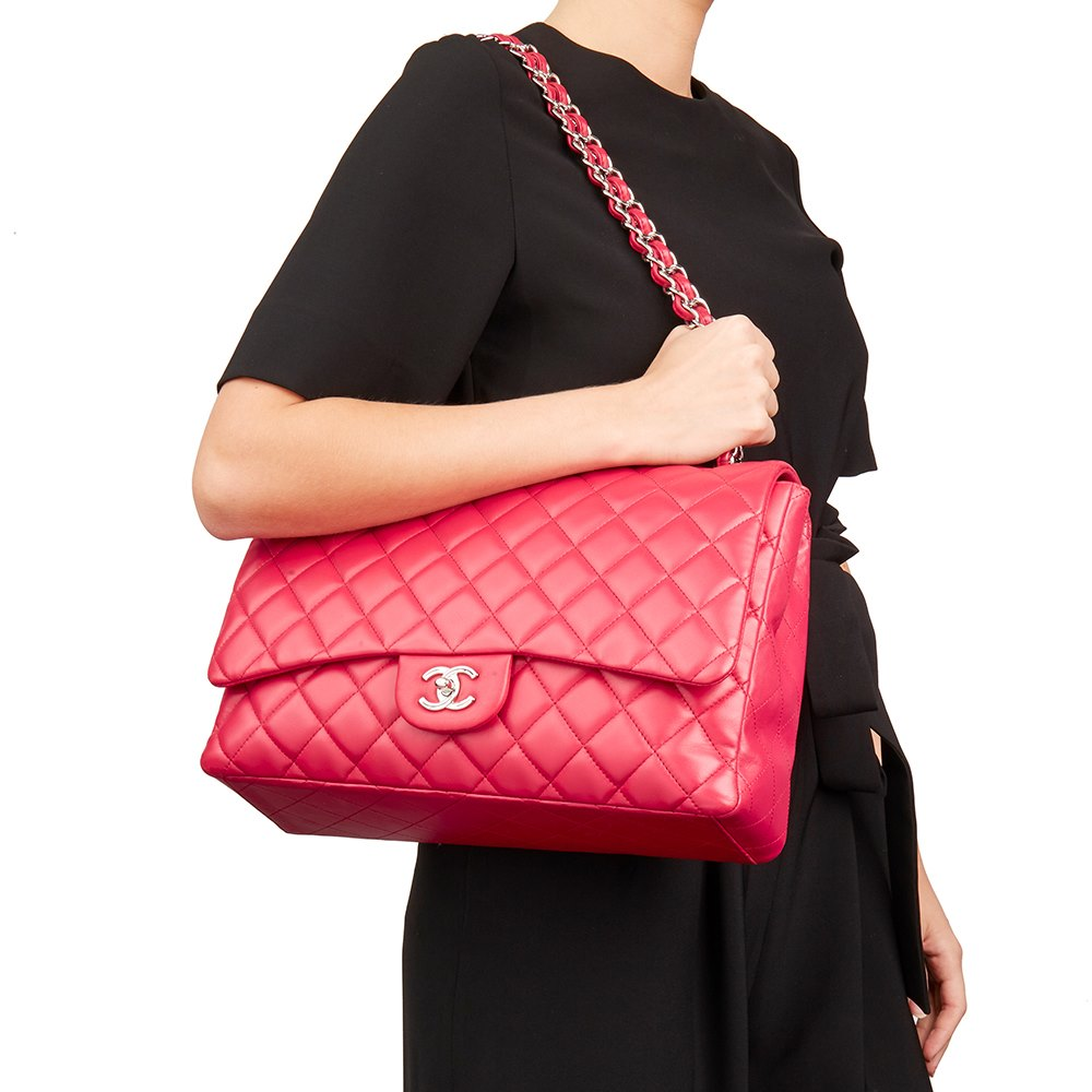 e96a0e6ad3a7 Chanel Maxi Classic Single Flap Bag 2009 HB2152 | Second Hand Handbags