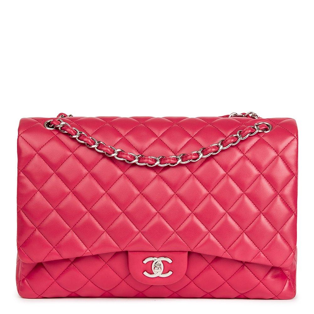 3fea7121346bf9 Chanel Maxi Classic Single Flap Bag 2009 HB2152 | Second Hand Handbags