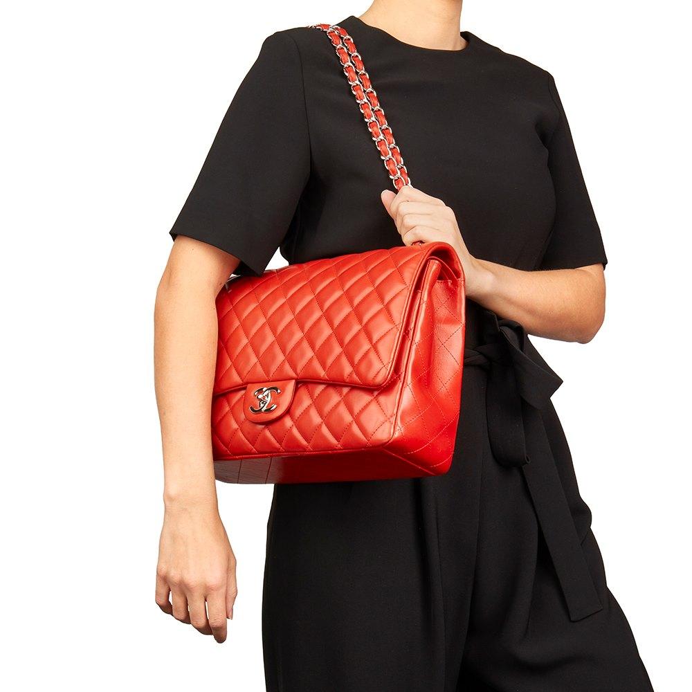 204d1424104a6e Chanel Maxi Classic Double Flap Bag 2011 HB2153 | Second Hand Handbags