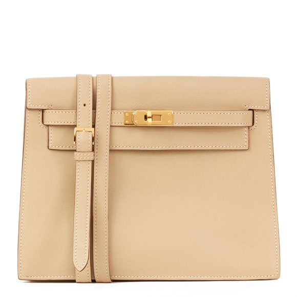 Hermès Parchemin Swift Leather Kelly Danse