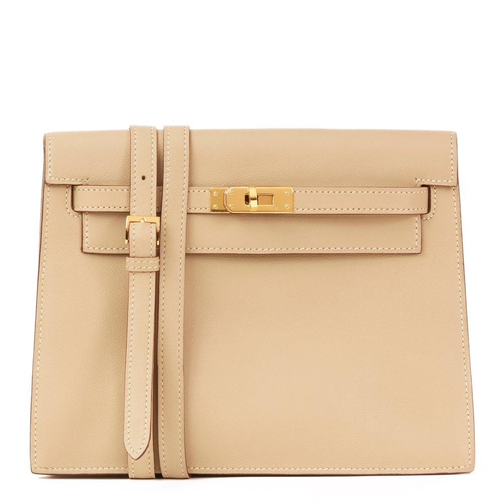 Hermès Parchemin Swift Leather Kelly Danse